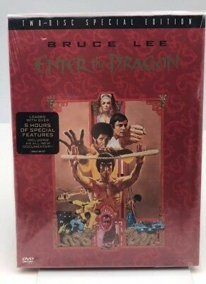 Bruce Lee: Enter the Dragon (2 Disc Special Edition DVD) New
