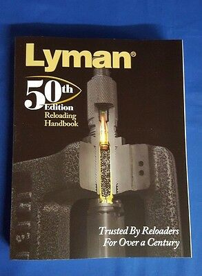 LYMAN 50TH EDITION RELOADING HANDBOOK MANUAL - NEW