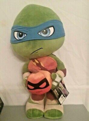 Teenage Mutant Ninja Turtles Leonardo Porch Greeter Halloween Pumpkin Standing](Ninja Turtle Pumpkin)