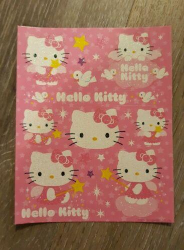 Sanrio Hello Kitty Glitter Sticker Sheet