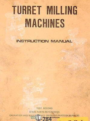 Lagun Ft1 Ft2 Ft3 Milling Operations Mainenance And Spare Parts Manual