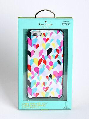 Kate Spade iPhone 6 Plus iPhone 6s Plus Hard Cover Case Confetti Rainbow Hearts (Hearts Plus)