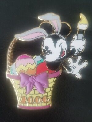 DSF Mickey Easter Basket 2006 LE 200 Disney Pin