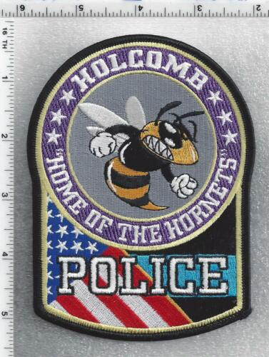 Holcomb Police (Missouri) 1st Issue Shoulder Patch