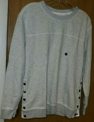 Abercrombie & Fitch Button Side Sweater - SMALL