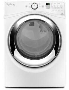 Whirlpool Duet Gas Dryer with Steam