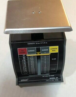 Vintage Pelouze Postal Scale Model 1x June 30 2002 Rates