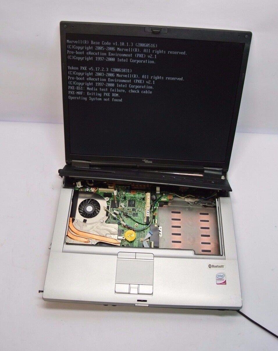 Fujitsu E Series E8310 Notebook Core 2 Duo 1.5gb Notebook- READ