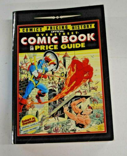 Official Overstreet Comic Book Price Guide No. 39 (Robert M. Overstreet) PB