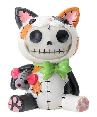 CALICO MAO MAO THE CAT  - FURRYBONES - SKELETON IN COSTUME - NEW - FREE SHIPPING](Cat Skeleton Costume)
