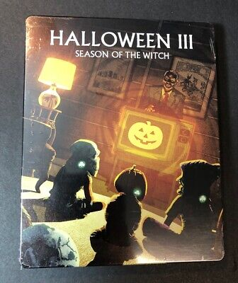Halloween 3 Season of the Witch [ Limited Edition STEELBOOK ] (Blu-ray Disc) NEW](Halloween Movies 3 Witches)