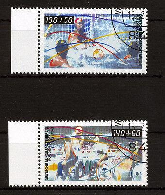 Berlin 864/5 - Für den Sport - Versandstelle gestempelt