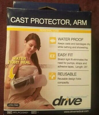 Drive Cast Protector Arm Medical Waterproof Water proof Easy Fit Reusable Seal Arm Cast Protector