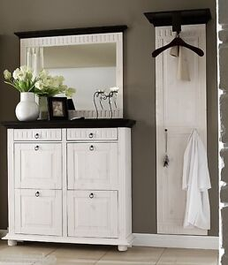garderobe kolonial m bel wohnen ebay. Black Bedroom Furniture Sets. Home Design Ideas