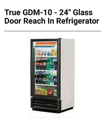 1 Glass Door Cooler True Gdm 10