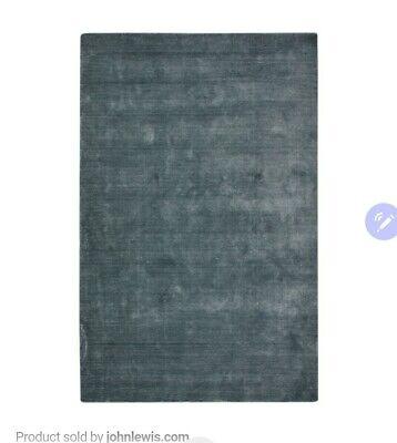 John Lewis John Lewis & Partners Illume Rug, L280 x W200 cm, GREY £600