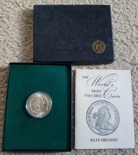 1804 Gallery Mint Uncirculated Silver Dollar Coin - Ron Landis - Free Shipping