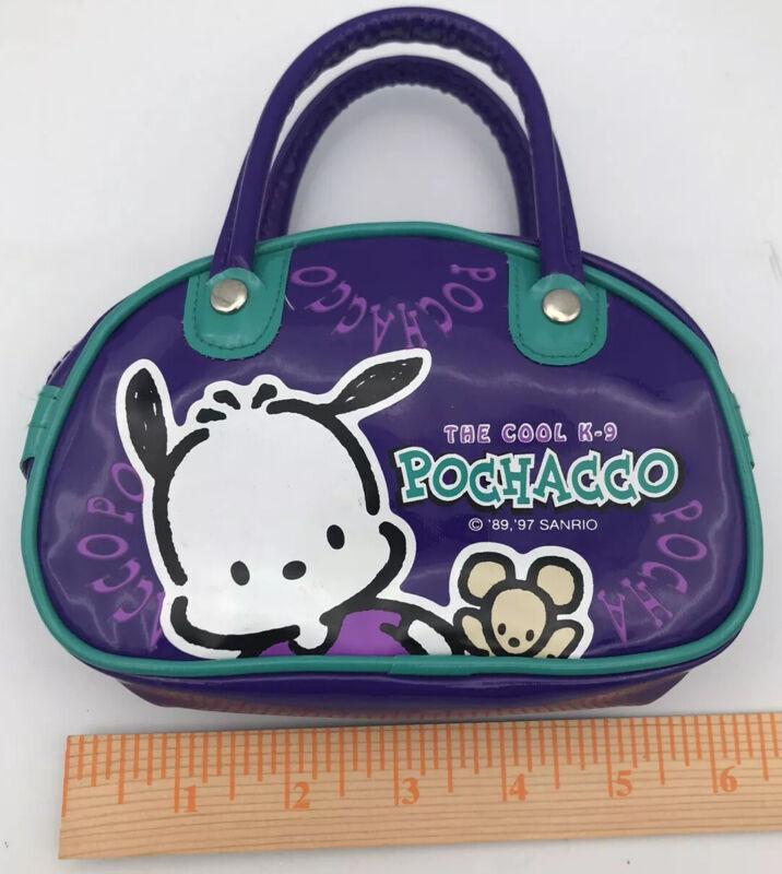 Sanrio '97 Pochacco Small Purse In Purple/teal