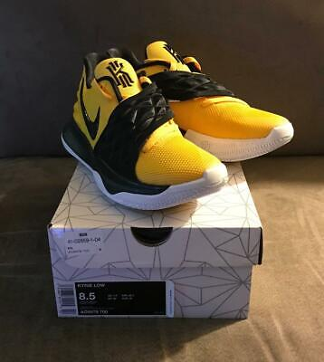 Nike Kyrie Low Amarillo Yellow / Black AO8979 700 US Mens Size 8.5 Bruce Lee (Bruce Lee Shoes)
