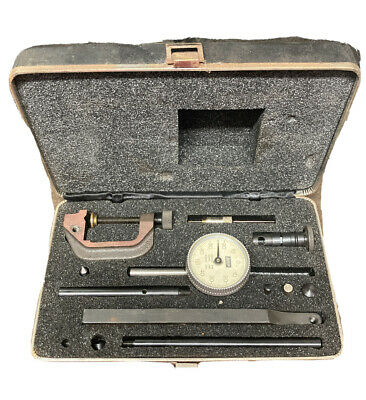 Lufkin 399a Back Plunger Universal Dial Test Indicator Kit Set Machinist Tool