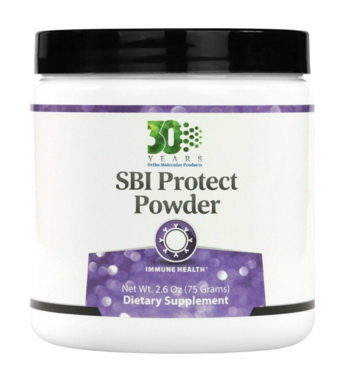 Ortho Molecular SBI Protect Powder 2.6oz Exp. 11/20 - FREE SHIPPING - NEW