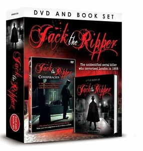 JACK THE RIPPER CONSPIRACIES DVD AND BOOK GIFT SET - UNIDENTIFIED SERIAL KILLER