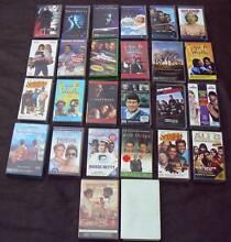 Bulk Lot 26 Video VHS Tapes Thriller Action Comedy Drama Vintage Bunya Brisbane North West Preview