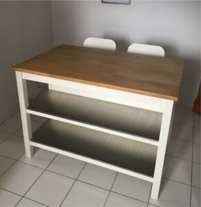 Ikea kitchen table + 2 folding chairs for $300