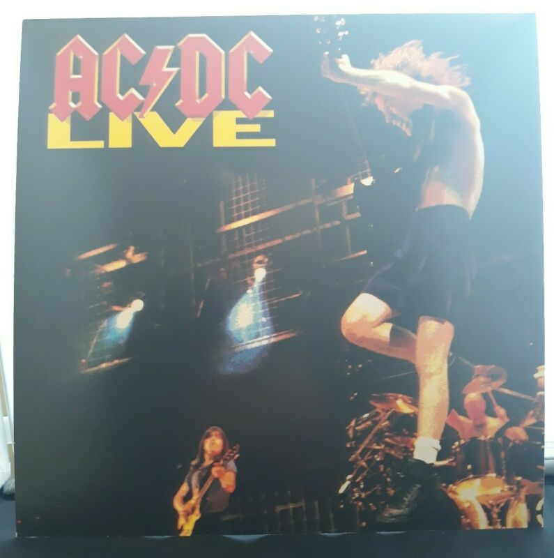 "ACDC Live Promotional Flat 12"" × 12"" Angus Young Double sided"