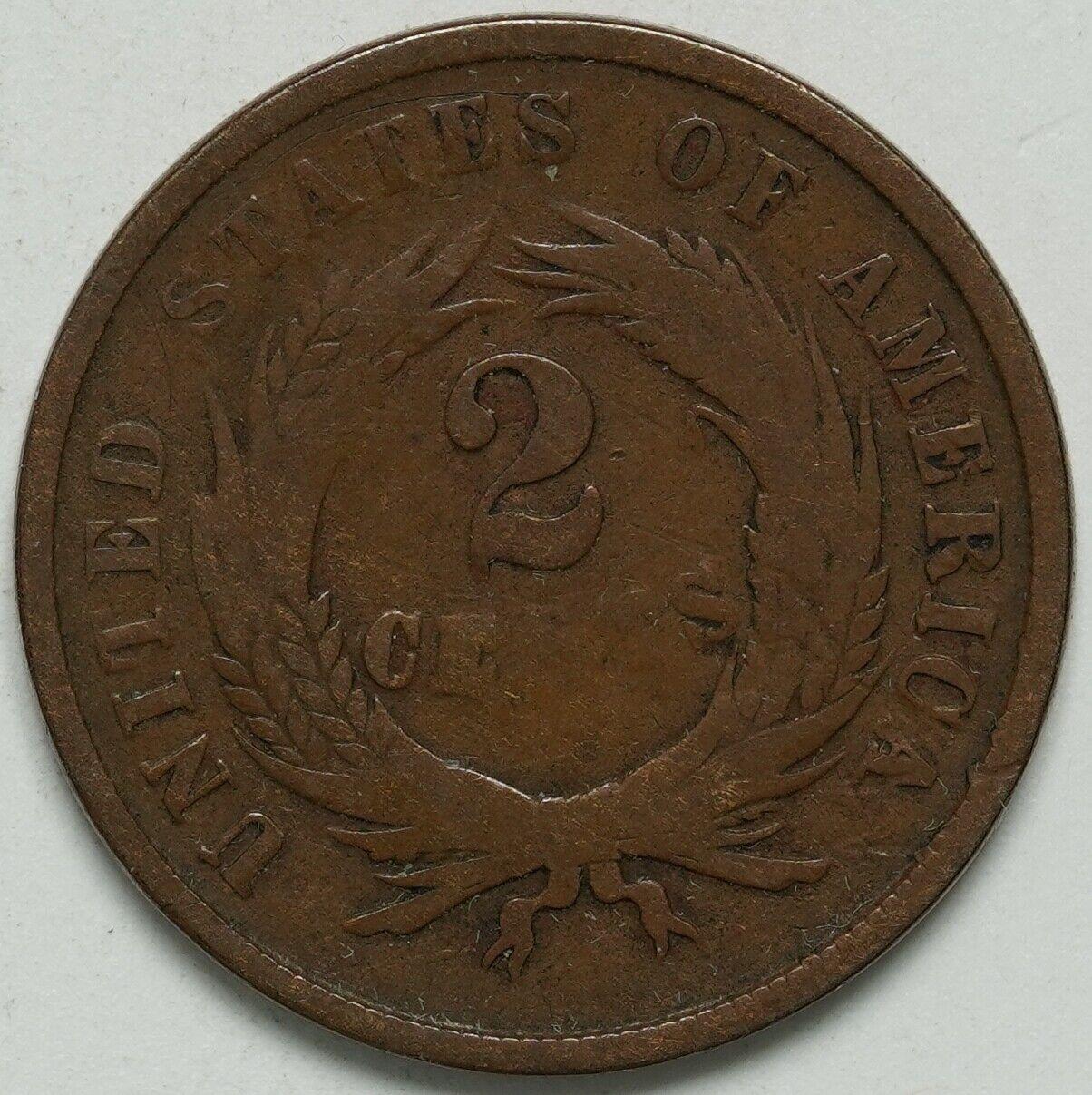 1865 2 Cent Piece - $29.99
