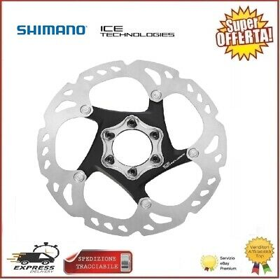 Disco Freno Mtb Shimano XT RT86 160mm 6 Fori Ice Tech Rotore...