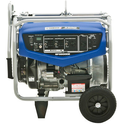 Yamaha Ef5500de 4500 Watt Electric Start Rv Home Backup Portable Power Generator