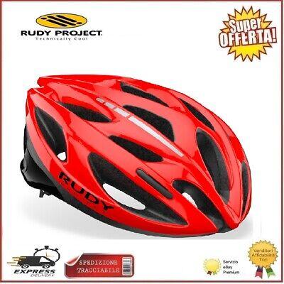 RUDY PROJECT Casco de Zumy Ciclismo Bici Red Shiny Sm 54-58cm Carreras...