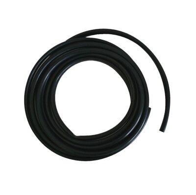 2m Tubo de Aislamiento 8 ,38x0, 57mm Negro PVC Suave