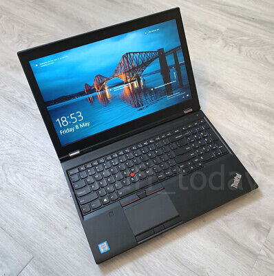 Lenovo ThinkPad P50 workstation, i7-6820HQ, 8GB/256SSD, Quadro M1000M -S75U