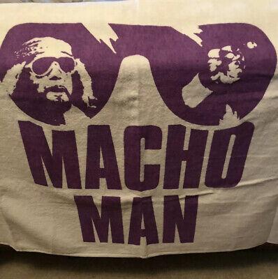 "Macho Man Randy Savage Sunglasses Beach Towel WWE 30"" x 60"" BRAND NEW WWF DIG (Savage Sunglasses)"
