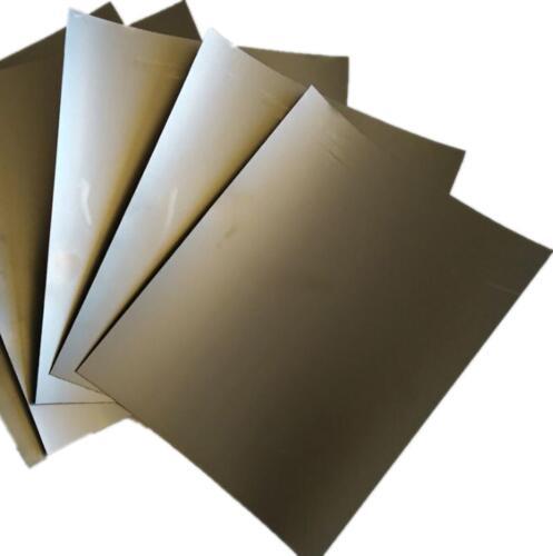 US Stock 5pcs 0.4mm x 200mm x 250mm 99.5% Graphite Flexible Foil Gasket Sheet