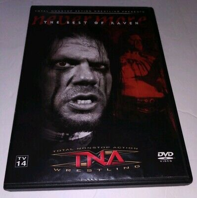 TNA Impact Wrestling: The Best of Raven Quote the Raven Nevermore (DVD, (Nevermore The Best Of Raven)