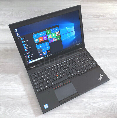 Lenovo ThinkPad P50 CAD/Gaming i7 workstation, 8GB/256SSD, Quadro M1000M -S195