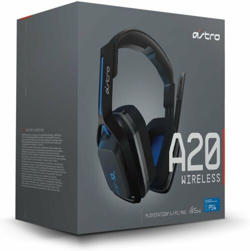 Astro Gaming A20 Wireless Gaming Headset for PlayStation 4/PC/Mac Multi 939-001558