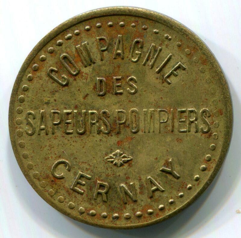 France, Cernay - Compagnie Sapeurs Pompiers Token