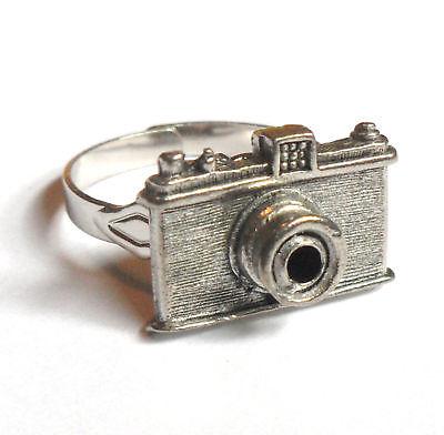 Camera Ring Boy Girl Gift Fun Retro Cool Geeky - Geeky Girl Gifts