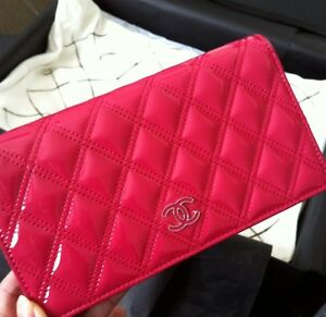 Authentic Chanel Pink Quilted limited Edition full wallet