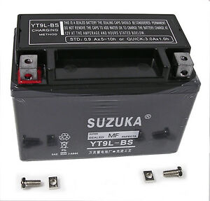 motorcycle battery for suzuki gsf600 bandit 1996 1999 pre filled with acid ebay. Black Bedroom Furniture Sets. Home Design Ideas