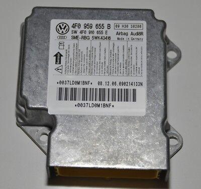Audi A6 S6 RS6 4F C6 Steuergerät Airbag 4F0910655E 4F0959655B Airbagsteuergerät