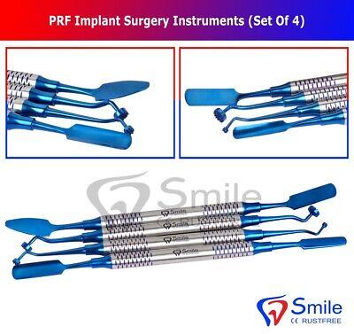 Dental Implant Prf Set Of 4 Instruments Kit Surgical Surgery Compactor Carrier