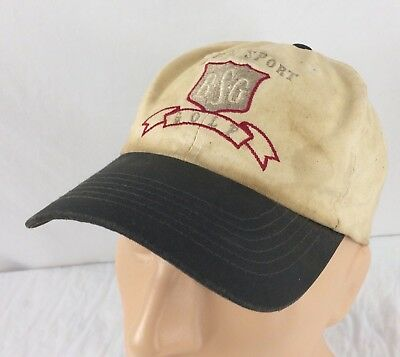 Vtg Bum Sport Golf Hat Distressed Stained Cap - Bum Hats