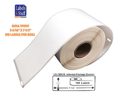 1 Roll Of 1-part Ebay Internet Postage Labels Fits Dymo Labelwriters 99019