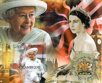 Mozambique Mocambique 2012 MNH Queen Elizabeth II Diamond Jubilee 1v S/S