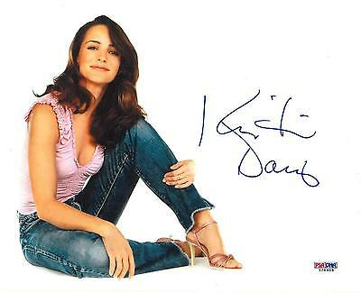 Kristin Davis Signed Sex And The City Authentic 8X10 Photo  Psa Dna   I28609